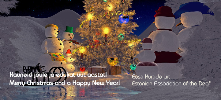 EKL jõulukaart 2017