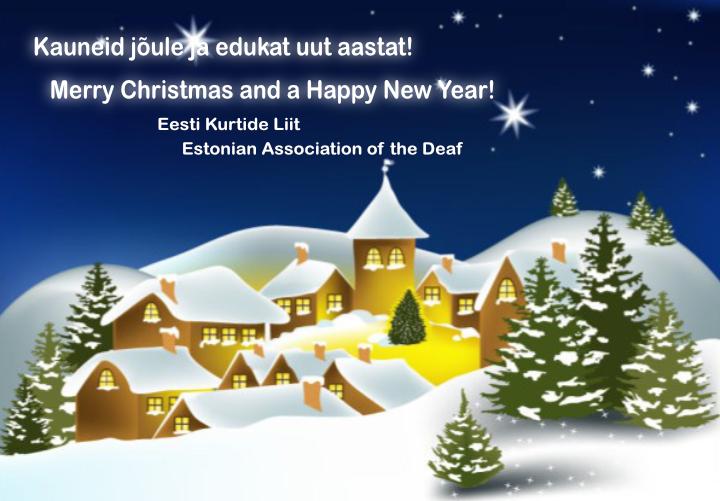 EKL  jõulukaart 2015