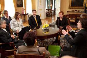 Kohtumine Soome presidendiga