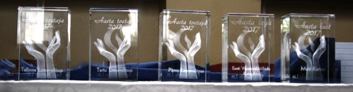Tänugala nominendi autasud