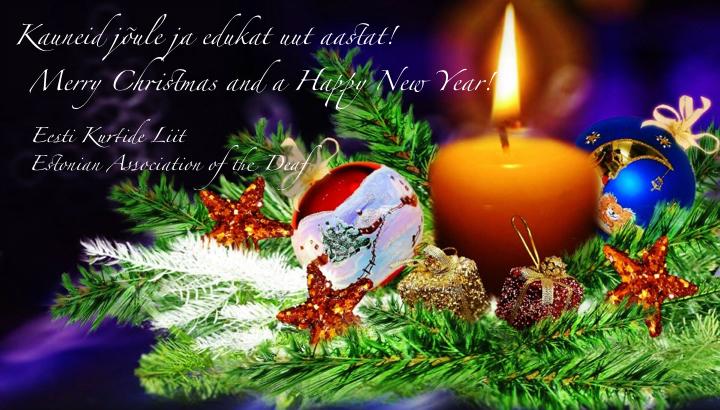 EKL jõulukaart 2014