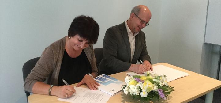 Lepingu allkirjastamine